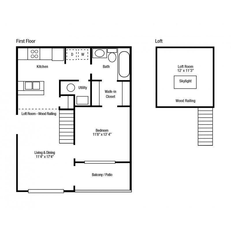 1A One Bedroom/One Bath | Versailles Gardens
