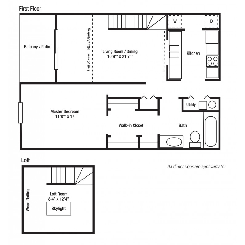 1B Large One Bed/One Bath | Versailles Gardens
