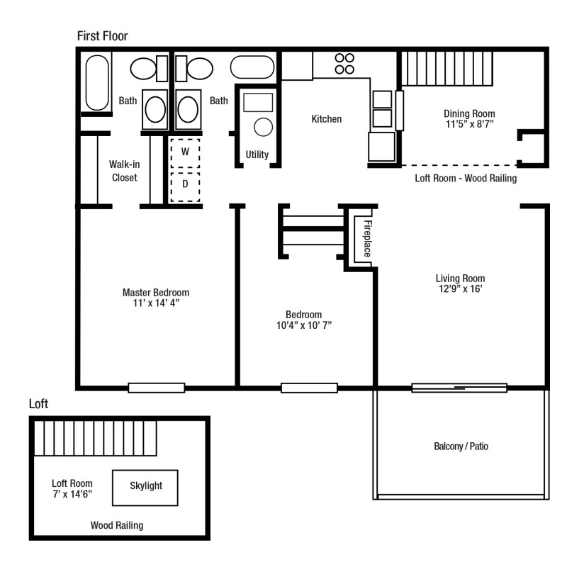 2C Two Bed/Two Bath | Versailles Gardens